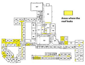 roof leaks diagram
