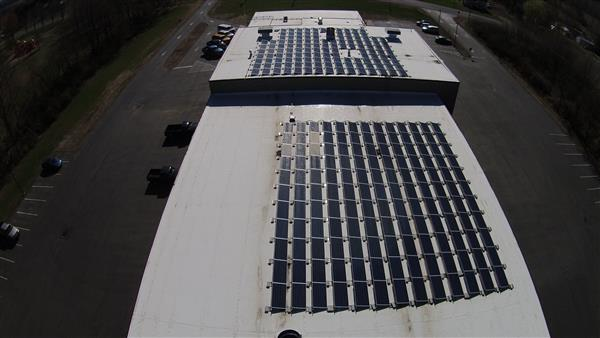 CCS Bus Garage/District Office Solar Array