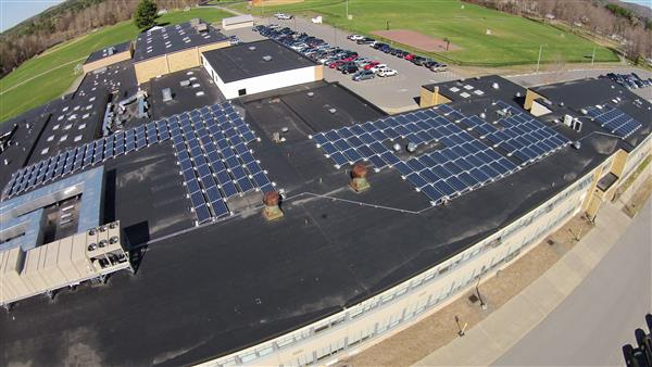 CCS High School Solar Array