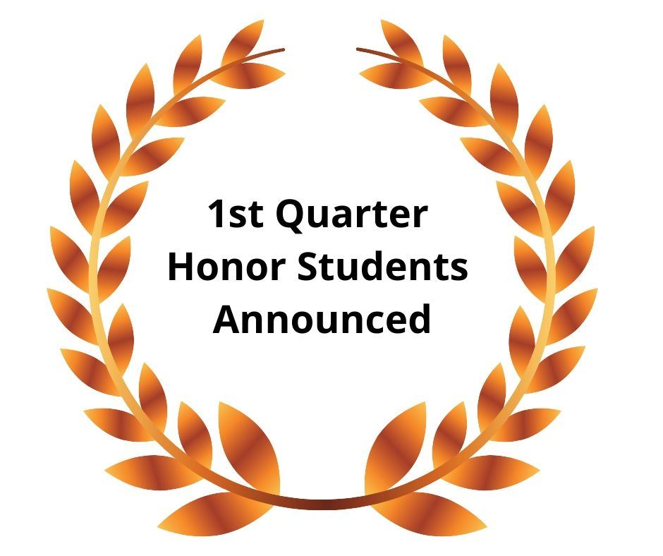 honor students announced